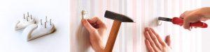 Как прикрепить картину к стене без сверления