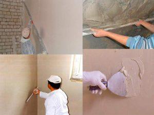 Какую гипсовую штукатурку выбрать для стен
