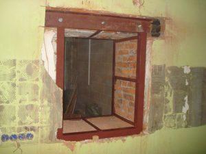 Как расширить дверной проем в кирпичной стене