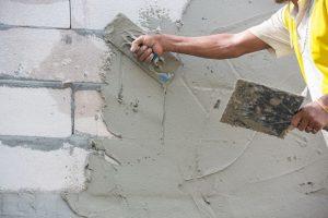 Технология штукатурных работ цементным раствором кубатурник бетона калькулятор