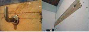 Как закрепить водонагреватель на деревянной стене