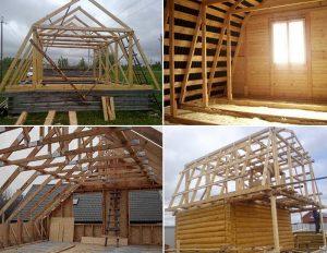 Как переделать крышу дома под мансарду