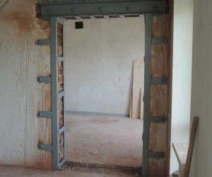 Как сделать дверной проем в бетонной стене