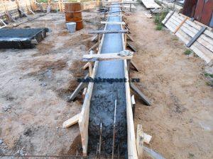 поэтапная заливка бетона