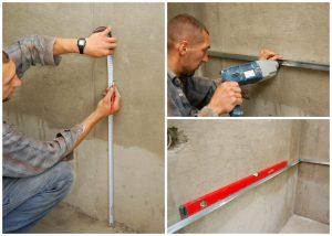Нужно ли выравнивать стены под плитку