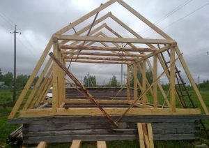 Ломанные крыши и их строительство