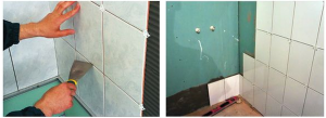 Можно ли класть плитку на покрашенную стену