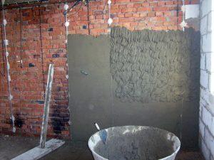 Штукатурка поверхностей внутри здания цементным раствором купить бетон березники