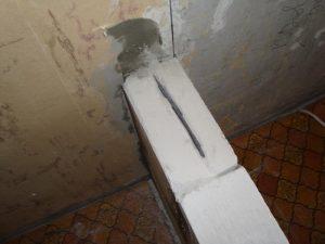 Как укрепить стену из пеноблоков в квартире