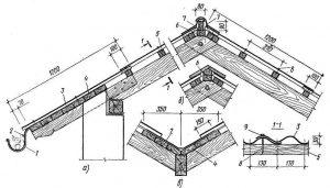 Деревянные крыши конструкции узлы
