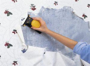 Как быстро убрать старые обои со стен