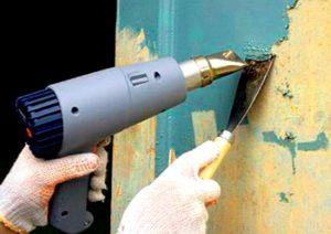 Как удалить акриловую краску со стен